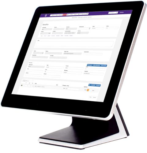 swretail voorraadbeheer op touchscreen