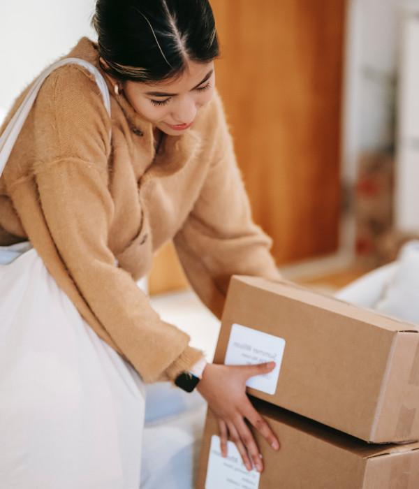 Klant heeft thuis pakketjes ontvangen van verkopen via bol.com