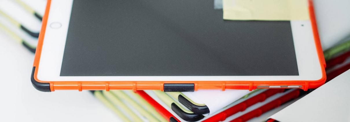 Stapel tablet kassa's